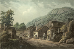Iron mills, a view near Tintern abbey, Monmouthshire